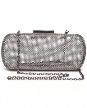Fashion Lab - Mesh Metal Case Clutch