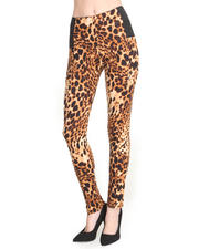 Basic Essentials - Pounce Animal Printed Jogger Pants