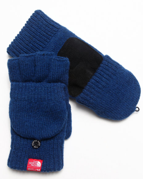 The North Face Blue Blackflip Knit Mitt