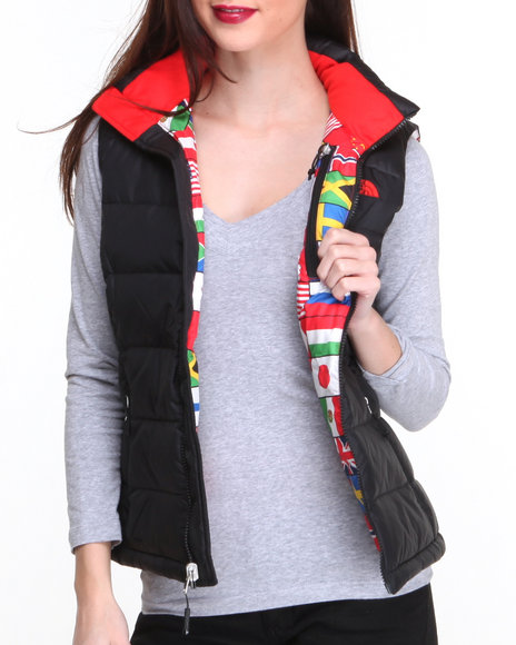 The North Face Black Women's International Nuptse Vest