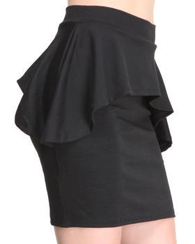 Apple Bottoms - Peplum Skirt