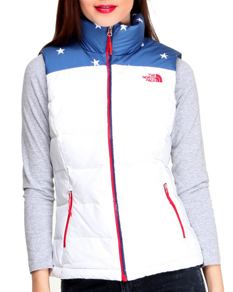 The North Face Blue Women's International Nuptse Vest