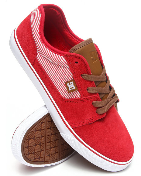Dc Shoes - Men Red Tonik Se Sneakers