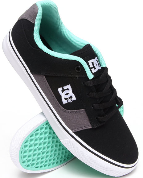 Dc Shoes - Men Black,Teal Bridge Tx Sneakers
