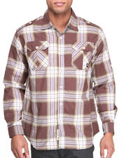Button-downs - Norris L/S Plaid Shirt