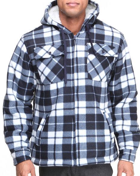 Basic Essentials Navy Men's Fleece Hoodie