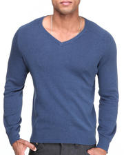 Calvin Klein - Solid Trans V-Neck Sweater