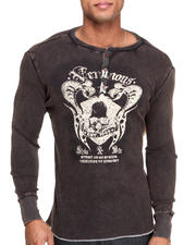 Thermals - Ornate Print L/S Thermal