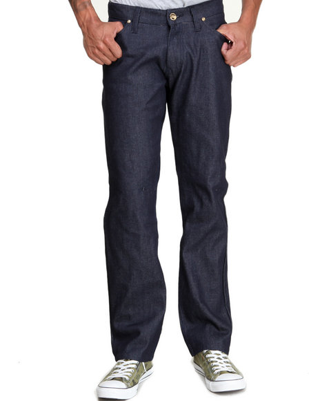 Buyers Picks - Men Indigo Ejel Straight - Fit Raw Denim Jeans