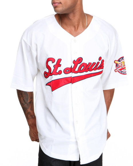 Buyers Picks - Men White St. Louis All - Star Baseball Jerseyall - Star Baseball Jersey