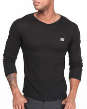 Men - Ribbed V - Neck Knit Sweater