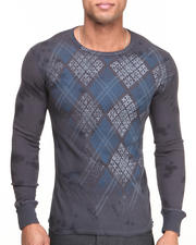 Thermals - Argyle Print L/S Thermal