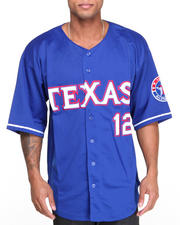 Men - Texas All - Star Baseball Jersey