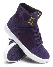 Supra - Skytop Purple Suede Sneakers