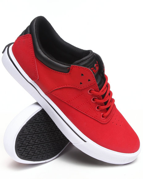 Supra Red Spectre Griffin Red Express Tuf Sneakers