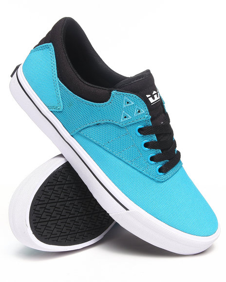 Supra Blue Spectre Griffin Turquoise Ballistic Nylon Sneakers