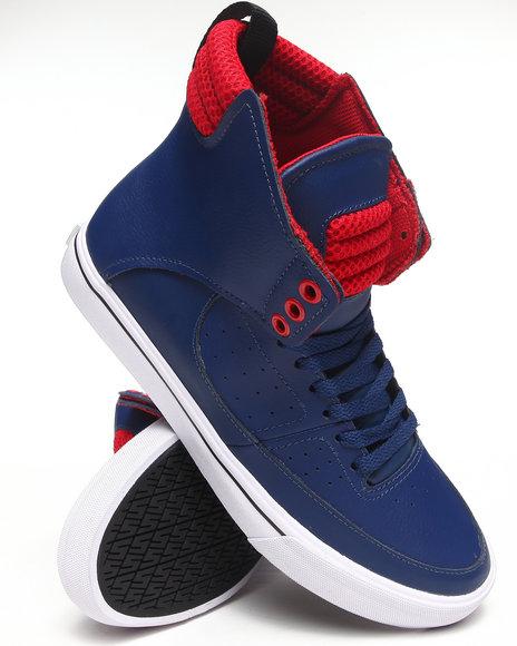 Supra Blue Spectre Condor Blue Leather Sneakers