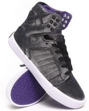 Women - Skytop Suede w/ Reflective Print Sneakers