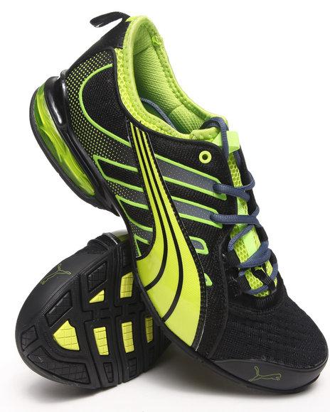 Puma Neon Green,Black Voltaic 4 Fade Sneakers