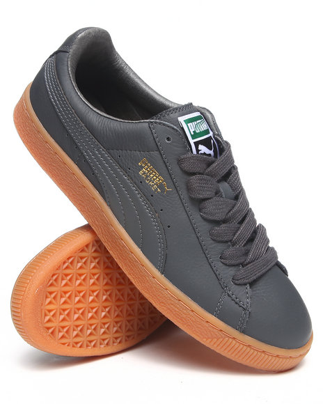 Puma Grey Basket Classic Lfs Sneakers