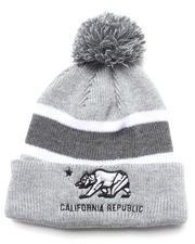 Men - California Republic Knit Pom Hat