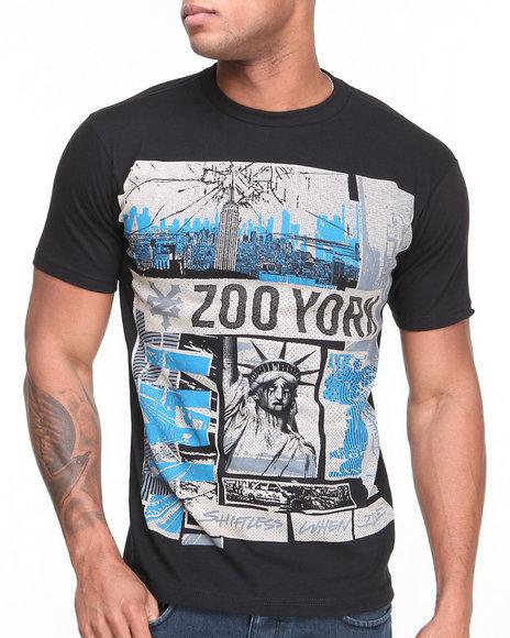 Zoo York Black Skyline Cut Tee