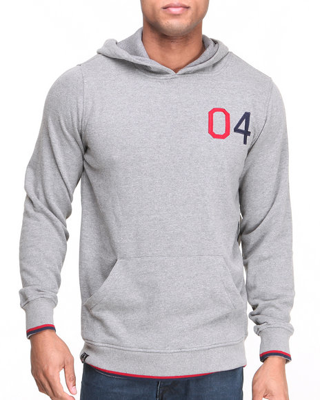 Fourstar - Men Grey Edgerton Hoodie - $34.99