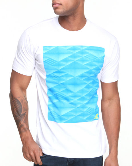 DC Shoes White All Bite Tee