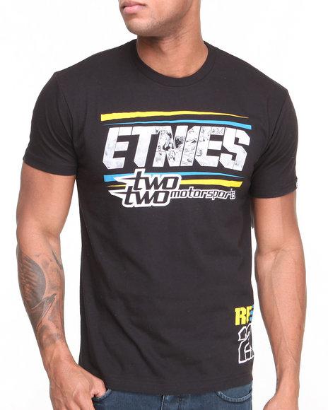 Etnies - Men Black Racey Tee