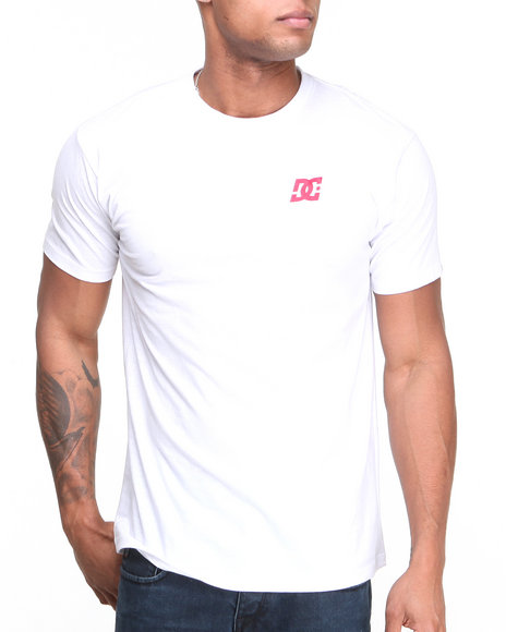 Dc Shoes - Men White Spot On Tee - $9.99