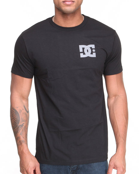 Dc Shoes - Men Black Chest Tee - $20.99