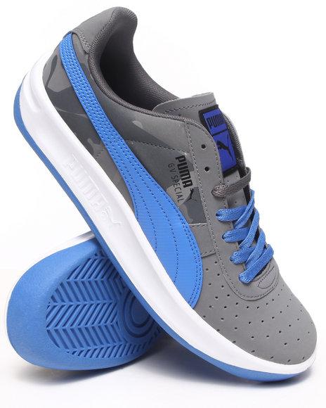 Puma Grey Gv Special Turbo Camo Sneakers