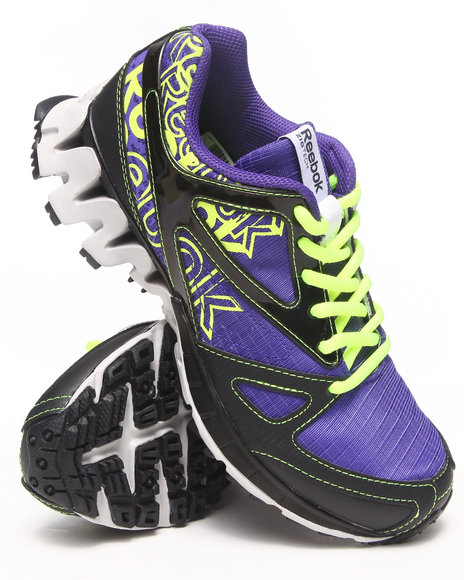 Reebok - Women Purple Zigkick Trail 1.0 Sneakers