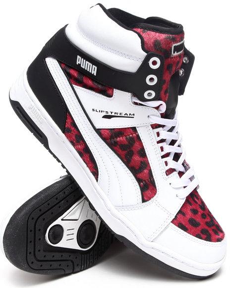 Puma Animal Print,Red,White Puma Slipstream Animal Sneakers