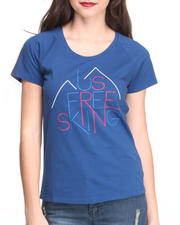 Tops - INTERNATIONAL SHORT-SLEEVE FREESKI TEE