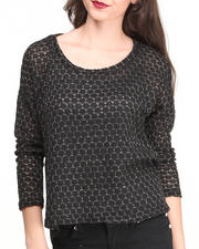 Women - Beth Mix Fabrication Long Sleeve Tee