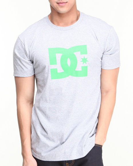 DC Shoes Grey Star Tee