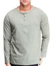 Long-Sleeve - Crescent Henley
