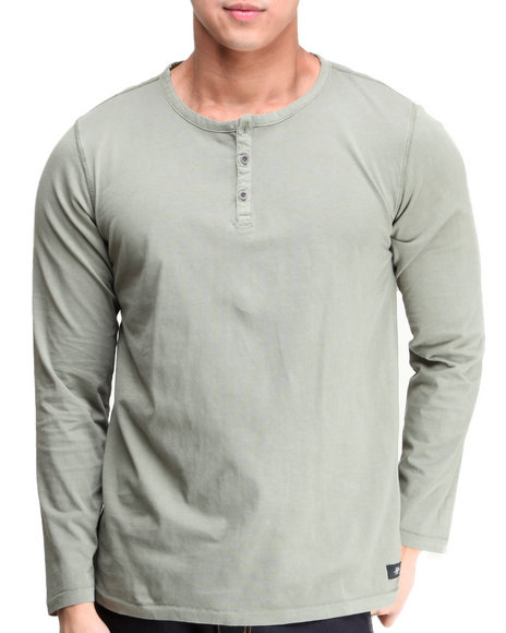 DC Shoes Green Crescent Henley