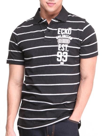Ecko Black Est 93 S/S Polo