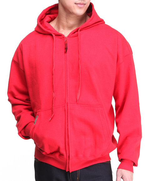 Basic Essentials - Men Red Competition Hoodie
