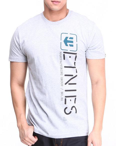 Etnies - Men Grey Obelisk Tee