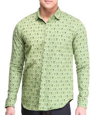 Men - Champagne Button-Up