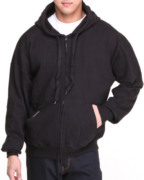 Basic Essentials - Men Black Competition Hoodie