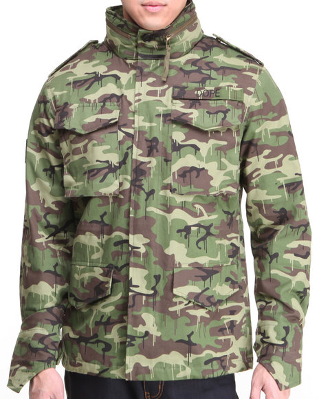 Dope - Men Camo Classic M65 Jacket