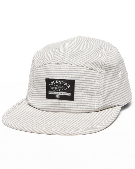 Fourstar Men Brophy 5-Panel Hat Grey - $14.99