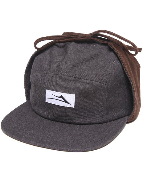 Lakai Men Gryll 5-Panel Cap Grey