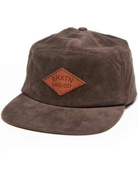 Brixton Men Wharf Cap Brown