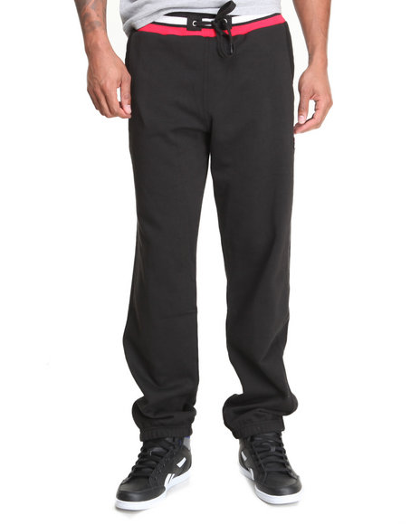 Fila Black Fila Premium Fleece Sweatpants