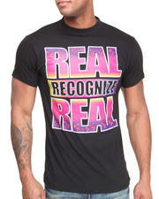 Men - Real Recognize Real Asteroid Tee